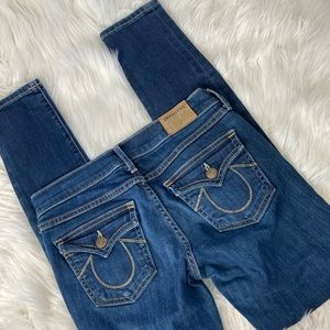 True Religion Casey Super Skinny Jeans